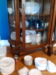 packing china cabinet