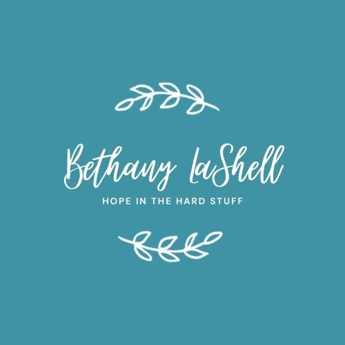Bethany LaShell - Hope in the Hard Stuff logo